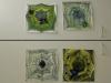 Hämähäkinverkot vesiväreillä maalaten